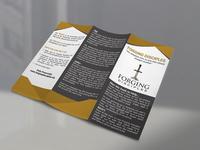 Church Tri-Fold Brochure Design