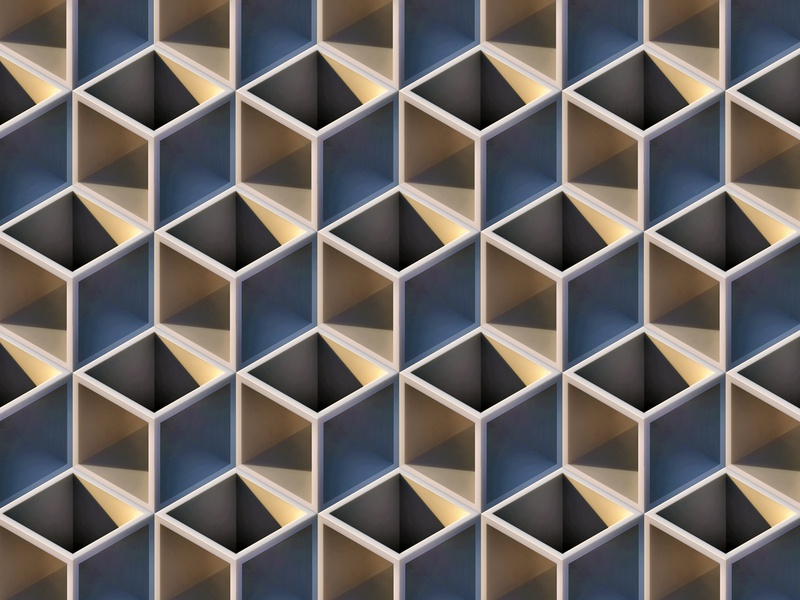 Grid grid Grid perspective perspectives hexagons hexagon grid tiling wallpaper