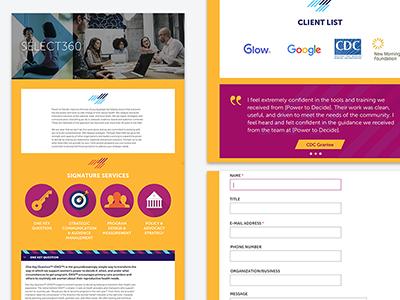 Services Page input form web site product responsive design web design ui ux