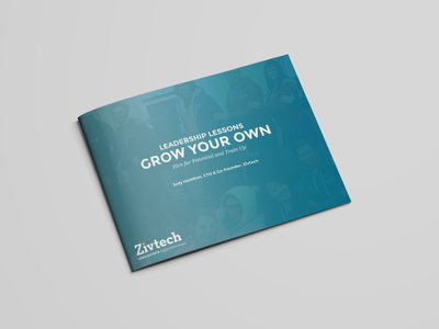 [FREE] White Paper: Grow Your Own resource newsletter brochure ebook graphic design print