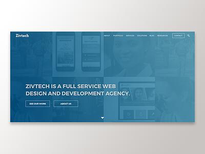 Hero Concept ux ui web design responsive design product site web banner hero landing