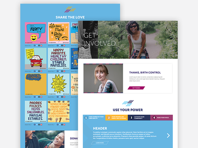 Shareable Gallery interaction web site product responsive design web design ui ux