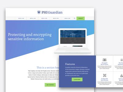 Landing Page landing web site product responsive design web design ui ux