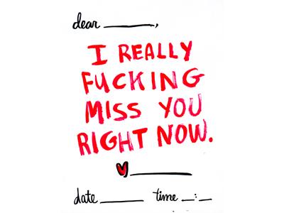 I Really Miss You By Lisa Romero Dribbble Dribbble