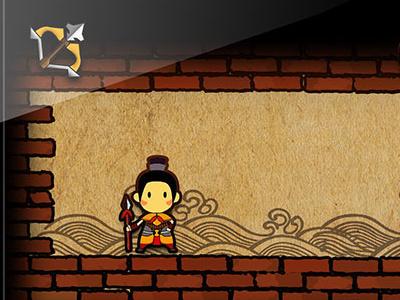 A game game screen illustration cartoon design ui