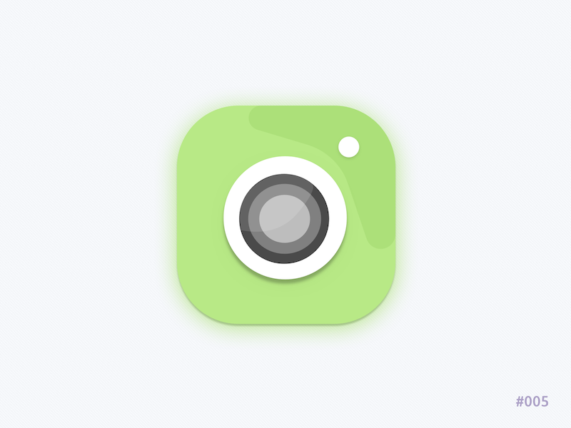 Camera App icon andriod retro camera mobile icon app icon