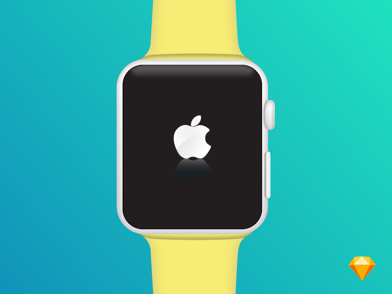 Apple Watch Mockup ui ios sketch sketch mockup smart watch device mockup watch mockups dribbble mockup apple watch watch apple