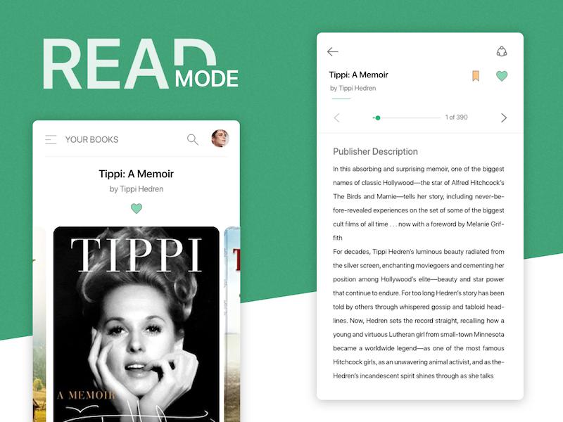 Ebook Reader by Prem kumar on Dribbble