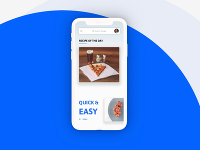 Food recipe mobile App