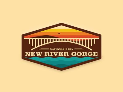New River Gorge Badge