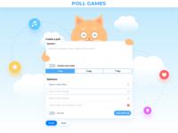 poll.games design