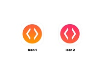 Coding App Icons v2 programming coding flat design ios