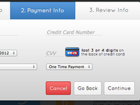 Modal Payment Form