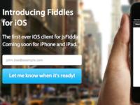 Fiddles website design