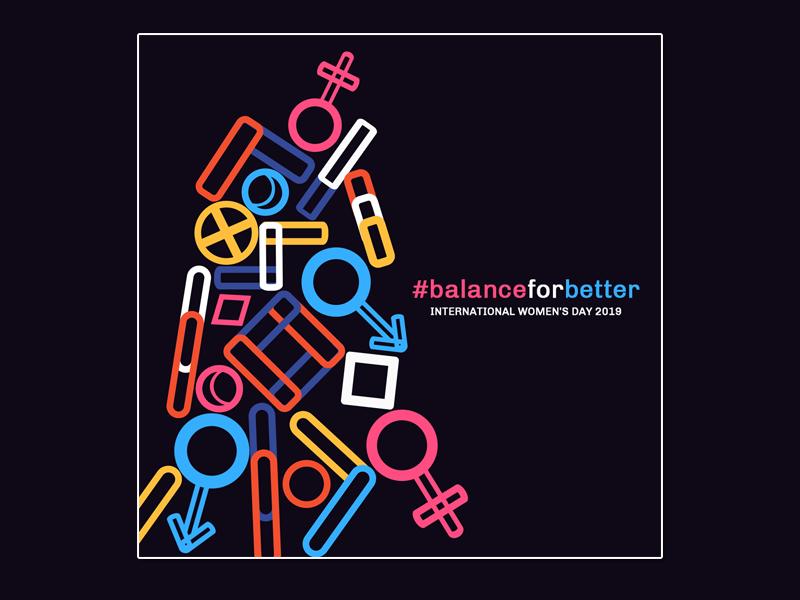 Balance For Better stack balance for better gender equality gender equilibrium balance balanceforbetter poster poster design womens day internationalwomensday international womens day womensday