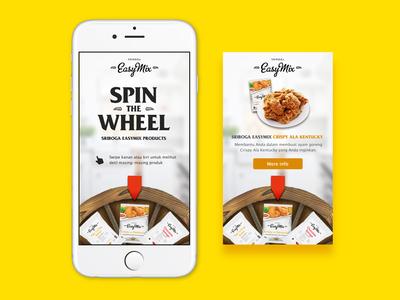 Sriboga EasyMix - Interactive Rich Media Ad