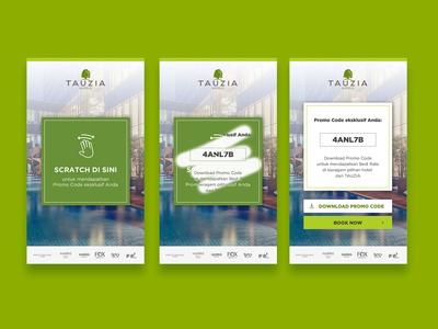 TAUZIA Hotels - Interactive Rich Media Ad