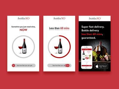 Bottles XO - Interactive Rich Media Ad