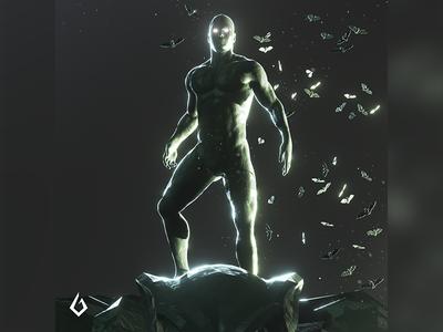 Heroes of Clay : Bat of Gotham