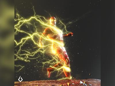 Heroes of Clay : Scarlet Speedster