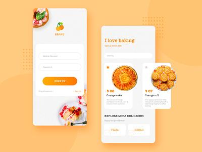 I love Baking illustration icon ux ui app ios design