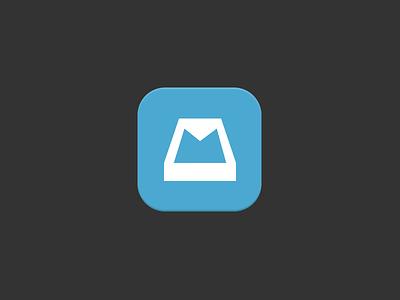 Mailbox iOS7 Icon icon ios7 mailbox ui flat interface