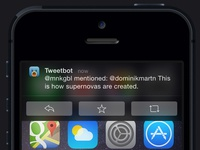 Tweetbot Interactive Notification