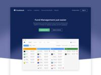Fundstack Landing Page