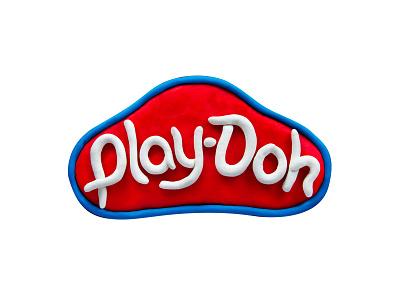 Play-Doh Logo graphic design brand design logo design