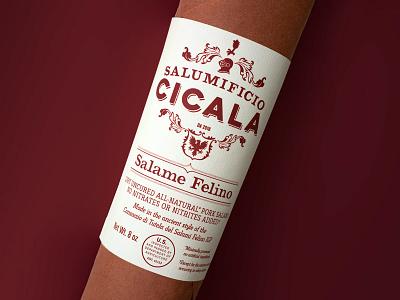 Salumificio Cicala food packaging design graphic design brand design cpg logo design packaging design