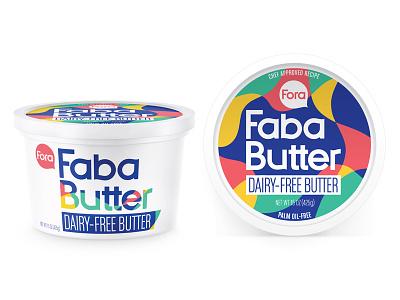 Fora Faba Butter brooklyn packaging design new york packaging design cpg design logo design food packaging design consumer packaging design packaging design