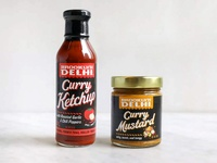 Brooklyn Delhi Curry Ketchup & Curry Mustard