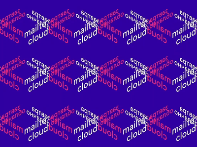 Mailto:cloud Conference 2019 ☁️ cloud cloudy typographic animation design animation