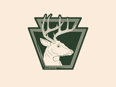 Keystone 8 Point Buck - Sticker