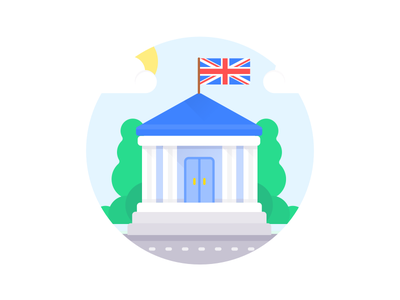 UK Banking illustration fintech money transfer account bank monese banking illustration