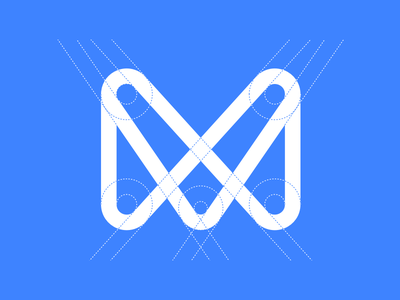 Monese identity construction bank icon finance app logo banking fintech branding identity m monese