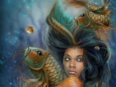 SunQueen Goddess fantasy art digital painting nika sun queen uk