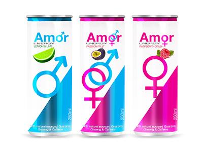 Amor Energy Drink amor energy drink mockup designs