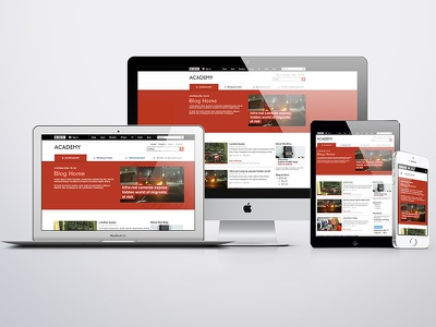 BBC Academy Blogs redesign responsible new bbc academy invision mockups
