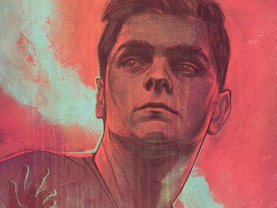 Martin Garrix commission commercial untold pink digital illustration illustration music festival art portrait illustration poster