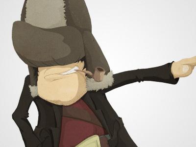 The Guy cartoon funny game illustration ios ipad iphone character