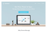 Managly Website Design