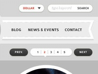 e-Commerce Header Design