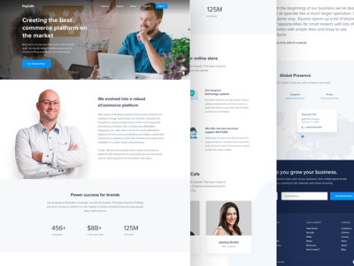 PayCafe About Us Design