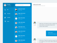 Customer Service Agent Dashboard