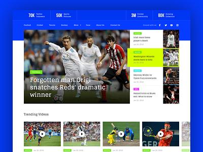 Sports Websites: the Best Sports Web Design Ideas - 99designs