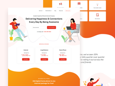 IT and Telecom Homepage