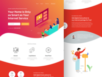 Internet Company Website