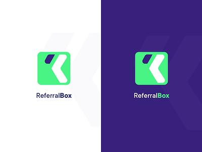 Referral Box Logo Identity logo design branding identity brand logo