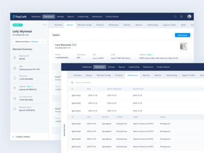 Payment Gateway - Merchant Detail